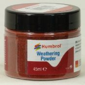 Humbrol AV0016 Iron Oxide Weathering Powder
